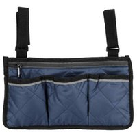 Storage Bags Multifunctional Wheelchair Side Hanging Bag Office Chair Folding Sundries Armrest Pouch Organizer