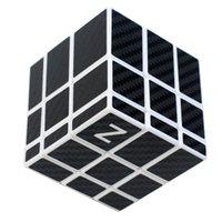 New 3x3 Specchio Cube Magic con adesivo in fibra di carbonio Educativo cubo Magico giocattoli come regalo bambini bambini labirinto educativo