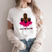 Women's T-Shirt Squid Game T Shirt Korean TV Series Cosplay Halloween Costume Unisex Men Women Graphic Tees Short Sleeve Tops1