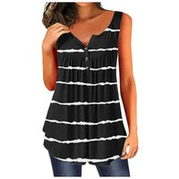 Womens Sleeveless Tanks Top Summertime Fashion O-neck Casual Vest 2021 Summer High Quality Clothing Tops #T3P Women's & Camis
