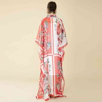 vestido ed women of cópia do vintage primavera high end plus size 5xl batwing longo manga corda rosa cópia solta elegante maxi