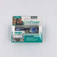 Nouveaux lecteurs d'alimentation Focus Ajustage automatique Lunettes de lecture Hommes Femmes de haute qualité Matériau de résine Eyeglasses