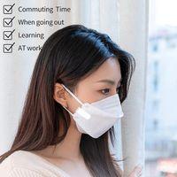 Ventilador de cara de aire portátil USB Mini portátil transpirable reutilizable PRINCIPANTE HABITABLE VENTILADORES VENTILADORES DE AIRE ELÉCTRICO recargable Ventilador de enfriamiento de aire CY02