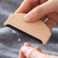 New Wooden Epilator Maglione Abbigliamento Shaver Tessuto Vestiti Maglione Struttura Lint Removers Manuale Portatile Trimmer Lint Lint Trimmer Comb Rasaver EWD5417