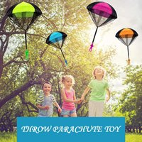Landzo Parachute Toy pour enfants Enfants Paracaidas Juguete Lancer la main Éducatif avec Figure Soldat