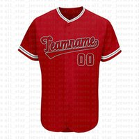 Custom Los Angeles Novelty Button-Down Baseball Jerseys Personalized Fans Shirt for Men Team&Any Name and Number for Gift Stitched Red