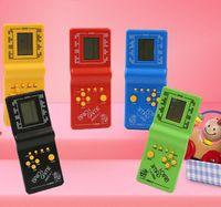الكلاسيكية تتريس ناحية الحنين المضيف لعبة لاعب عقد الألعاب الالكترونية اللعب وحدة للأطفال يلعبون متعة الطوب الألعاب لغز يده E9999 DHL