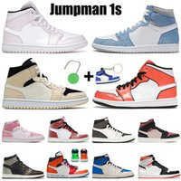 Çorap Jumpman Nike Air Jordan Retro 1 1s Bayan Erkek Basketbol Ayakkabı Yüksek Koyu Mocha Satin ileÜrdünRetro Orta Chicago Yüksek Düşük Eğitmenler Spor Spor ayakkabılar
