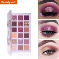 18 Colors Aromas Nude Eyeshadow Palette Long Lasting Multi Reflective Shimmer Matte Glitter Pressed Pearls Eye Shadow Makeup Pallet