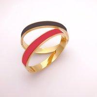 Womens Love Bracelet Designer Bracelets Mens 럭셔리 팔찌 여성 패션 클래식 레드 골드 티타늄 강철 커플 Bangles Jewelry