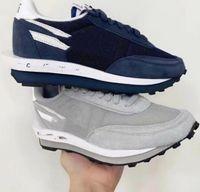 2021 أحذية رياضية عداء الأحذية Ldwaffle DH2684-001 مع مربع