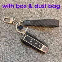 Slim Bag M61950 Dragonne Mono Challence Eclipse Ключ Держатель Дизайнер Мужчин Аксессуары Ремень Подвески Ключ Keychain Keyring ID Название Багажника Тег
