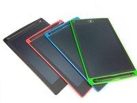 새로운 디지털 휴대용 LCD 작성 태블릿 8.5 인치 드로잉 태블릿 필기 패드 전자 태블릿 보드 성인을위한 아이들