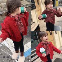 Girls Babys Kids Blouse Jacket Outwear 2022 Cool Spring Autumn Top Long Sleeve Shirts Cotton Princess Childrens Clothing