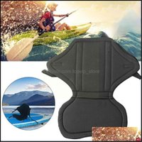 Rafts Inflatable Paddling Water Sports & Outdoorsrafts Inflatable Boats Kayak Seat Padded Adjustable Backrest Canoe For Fishing Boat Slip So