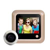 "2.4 ""LCD-Farbbildschirm Elektronische Türklingel 160 Grad Peephol-Viewer-Kamera-Türklingel Home Security-Video-Telefone"