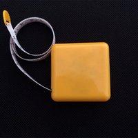 Misura del nastro Piccolo regalo maschio e britannico Doppione del righello morbido quadrato 1.5m Mini Creative Advertising Logo personalizzato