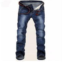 Free Delivery 2020 New Large Blue Elastic Men Jeans Slim Fit Straight Denim Pants Cheap Price Men's Jean Skinny Homme