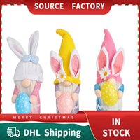 Christmas Decorations Easter Bunny Hug Dolls Made Of Non Woven Fabric Cute Faceless Old man Dwarf Doll Ornamentsll