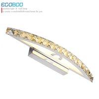 Wall Lamps EGOBOO 10W Waterproof LED Bathroom Lighting Nice Crystal Light Mirror Lights 44cm Long Decorative For Home