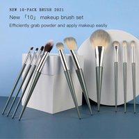 Makeup Brushes 10 Professional Brush Set Eyeshadow Foundation Blush Highlight Beauty Tools