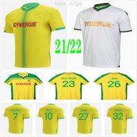 2020 2021 FC Nantes Futbol Formaları Simon Louza Bir Toure Blas Coco Coulialy Özel 20 21 Eve Uzakta Yetişkin Çocuklar Erkekler Futbol Gömlek