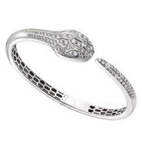 2021 brazalete joyería moda plata esterlina hembra ronda pulsera dura clásico serpiente cadena mujeres señora regalo perfecto