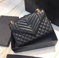 2021 Moda de mujer Bolso diagonal de moda clásico Diamond Caviar Lujo de lujo de un hombro Bolso de la axila