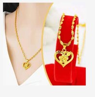 Fine gold plated pendant necklace free del ivery