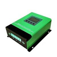 자동 감지 DC12 24 48V 60A MPPT 태양 전하 방전 컨트롤러 배터리 높은 변환 효율 3 현자 제어 충전 시스템