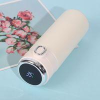 420ml 스마트 보온병 스테인레스 스틸 물병 LED 디지털 온도 디스플레이 커피 열 찻잔 지능형 절연 컵 1435 v2