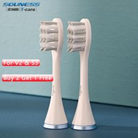 Tête de brosse à dents de remplacement pour têtes de brosse de nettoyage électrique S3V2 Smart
