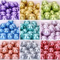Chrome Metallic Balloons Wedding Birthday Party Deco Ballons Latex Air Balls Anniversaire Dec Metal Supplies Decoration