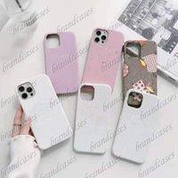 Cas de téléphone rose personnalisé de luxe pour Apple iPhone 12 11 13Pro 13ProMax 13 xSmax Couverture 7 8plus xr 12Promax x Sac d'accessoires
