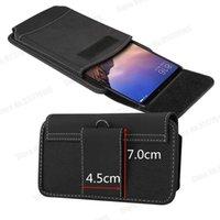 الحقيبة الهاتف الخليوي الحقيبة للحيوية Y51 2021 Y52S X50E Y73S 5 جرام x60 X30 V17 X50 برو زائد الخصر حقيبة حزام كليب الحافظة واقية غطاء القضية