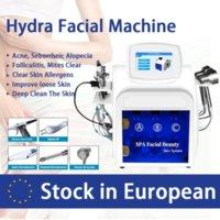 Nouvelle arrivée! Hydrodermabrasion Machine d'eau Peel Nettoyage Deep Nettoyage RF Bio Skin Lou de levage hydrafacial Dermabrasion Aqua Pelu Machine faciale