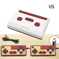 Portable Game Players Red White Mini Console Retro Double Person 8 Bit Built-in 620 Parent-child