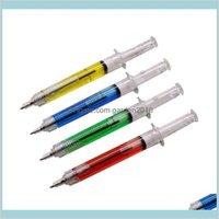 Ballpoint Pens Writing Supplies Office & School Business Industrial 50 Pcs Strange Pen 0Dot7Mm Tip Blue Ink Children Gift Student Prom