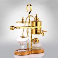 Design Vattendroppe Royal Balancing Siphon Kaffebryggare / Belgien Maker Siphon Vacumm Brewer Coffe Machine Roasters