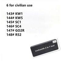 코드 독자 스캔 도구 Locksmith 2 in 1 in 1 KW1 KW5 SC1 SC4 GO2R R52, Locksmith 모든 유형