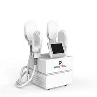 Taşınabilir Emslim HI-EMT Vücut Şekillendirici Zayıflama Makinesi Kas Stimülasyonu EMS Elektromanyetik Yağ Yakıcı Kas İnşa Güzellik Ekipmanları 4 Kolları