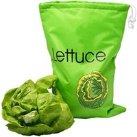 Storage Bags 36*28cm Home Vegetables Drawstring Pocket Packing For Fruits Fresh-keeping Lettuce Baggies