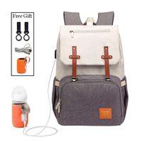 Baby Diaper Bags For Dads Moms Backpack Large Capacity Waterproof Nursing Travel Stroller Bag Luxury Organizer Twins