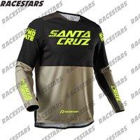 Santa Cruz Downhill Enduro Jeresy Motocicleta Motocross Racing MTB MX Off Road Manga Larga Ciclismo Jersey Bicicleta Camiseta BMX ATV X0503