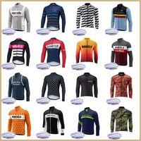 Morvelo Takımı Bisiklet Polar Uzun Kollu Jersey Giyim MTB Dağ Nefes Yarışı Giyim Bisiklet Maillot Yumuşak Cilt Dostu 42275