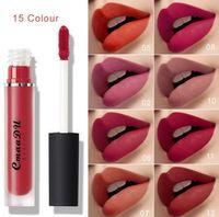 CMAADU Beauty Lip Gloss Velvet ماتي أحمر الشفاه الشفاه الرفيعة ماكياج الطبيعية مات السائل lipgloss