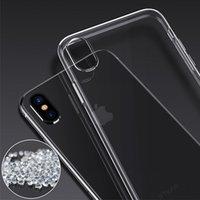 Przezroczyste przypadki odpowiednie dla iPhone 12 11 Pro Max XR XS iPhone6s 7 8 Telefon komórkowy Shell Miękka silikonowa pokrywa ochronna