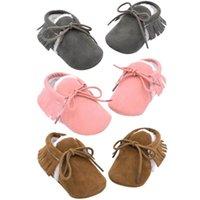 Primeiros caminhantes jocestyle outono inverno tassels infantil sapatos toddlers bebê soled macio aquecido pré-fabricantes de apoio