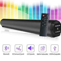 Mini Speakers Powerful Home Theater TV Sound Bar Speaker Wireless Caixa De Som Bluetooth Subwoofer Surround Soundbar For PC With FM