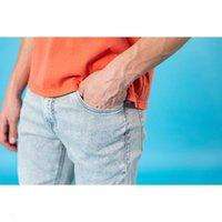 Simwood Summer Slim Fit Taperd серые мужчины мыть джинсовые брюки 10.5oz руда пряжа классические джинсы SJ150391
